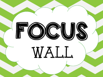 FOCUS WALL HEADINGS