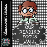 Focus Wall Posters for Math and Reading--Primary Grades {FREEBIE}
