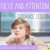 FOCUS and ATTENTION Guidance Lesson - Distance Learning wi