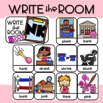 FOCUSED PHONICS for FIRST--the ENDING BLEND NK