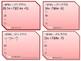 FOIL Task Cards