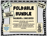 FOLDABLE BUNDLE - 4 foldables with ANSWER KEYS INCLUDED!!