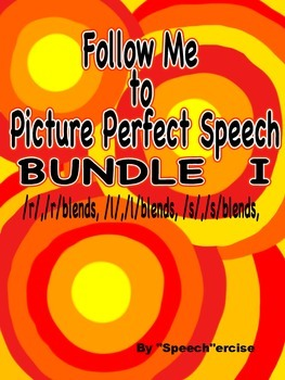 FOLLOW ME TO PICTURE PERFECT SPEECH BUNDLE I- /TH/, /S/,/L/, blends