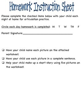 FOLLOW ME TO PICTURE PERFECT SPEECH-Follow Directions & Articulation /CH/