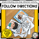 FOLLOW ONE-STEP DIRECTIONS IMITATION  Pre-k  Autism Early