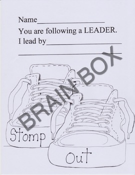 FOLLOWING A LEADER WRITING PROMPT