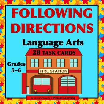FOLLOWING DIRECTIONS • LANGUAGE ARTS • GRADES 5–6