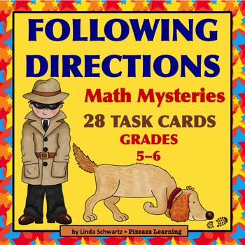 FOLLOWING DIRECTIONS • MATH MYSTERIES • GRADES 5–6