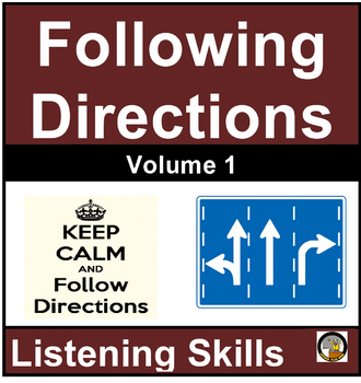 FOLLOWING DIRECTIONS VOLUME 1- NO PREP- FREE