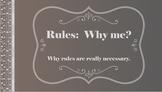 FOLLOWING RULES No Prep SEL Lesson Parent Letter Activity Character Ed PBIS