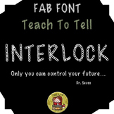 FONT FOR COMMERCIAL USE  - DECORATIVE FONT - INTERLOCK