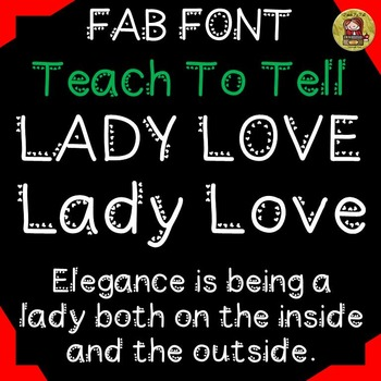 FONT FOR COMMERCIAL USE: DECORATIVE FONT: VALENTINES: LADY LOVE