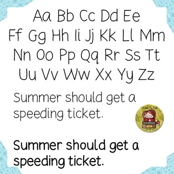 FONT FOR COMMERCIAL USE - HANDWRITING FONT - SUMMER SLIDE