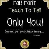 FONT FOR COMMERCIAL USE {TEACHTOTELL ONLY YOU } HANDWRITING FONT