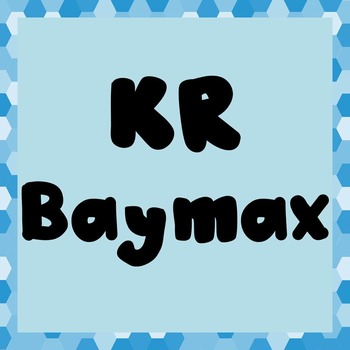 FONT - KR Baymax (Commercial & Personal Use)