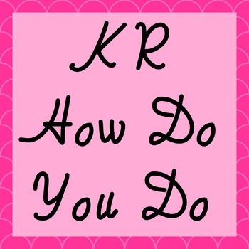 FONT - KR How Do You Do (Commercial & Personal Use)