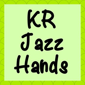 FONT - KR Jazz Hands (Commercial & Personal Use)