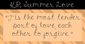 FONT - KR Summer Love (Commercial & Personal Use)