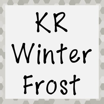 FONT - KR Winter Frost (Commercial & Personal Use)