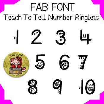 FONT: NUMBER FONT: RINGLETS