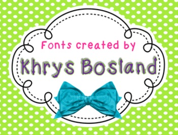 FONT - Personal or Commercial Use: KB Push