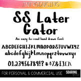 FONT | SS Later Gator (Personal & Commercial Use)