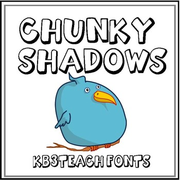 FONTS:  KB3 BOLD FONTS PACK#3 (Personal & Commercial Use)