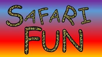 FONTS - Cheetah Print Font
