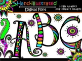 FONTS - Doodle Font2!   Commercial & Personal use