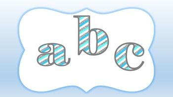 FONTS - FROZEN Inspired Lettering - Personal and Commercial Use