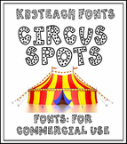FONTS:  KB3 FUN FONTS PACK#1 (Personal & Commercial Use)