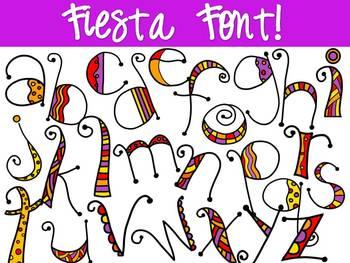 FONTS - Fiesta Font!