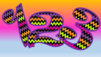 FONTS - Fun Colorful  Lettering - Personal and Commercial Use
