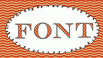 FONTS - Fun  FALL POLKA DOT Lettering - Personal and Commercial Use