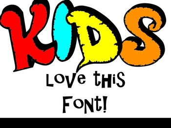 FONTS - Graffiti Style - Hand Illustrated Font - Personal & Commercial Use