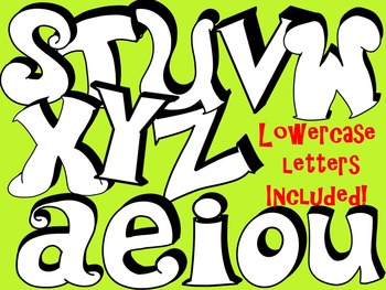 FONTS - Graffiti2 - Hand Illustrated Font - Personal & Commercial Use