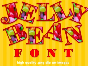 FONTS - Jellybeans!  Commercial & Personal use