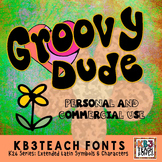 FONTS: KB3 Groovy Dude (Personal & Commercial Use: K26 Series)