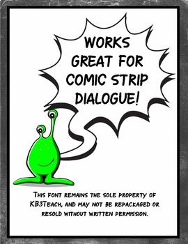 FREE FONTS: KB3 Comic Strip Font (Personal Use)