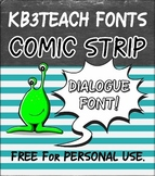 FREE FONTS: KB3 Comic Strip 3-Font Set (Personal Use: K26 Series)