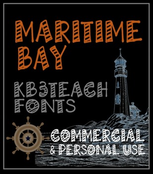 FONTS: KB3 Maritime Bay (Personal & Commercial Use)
