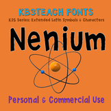 FONTS:  KB3 Nenium (Personal and Commercial Use: K26 Series)
