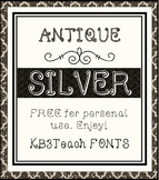 FREE FONTS: KB3 Filigree Fonts 4-Font Set (Personal Use)
