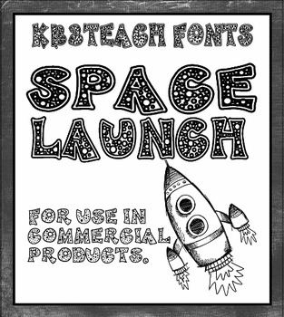FONTS:  KB3 Space Launch