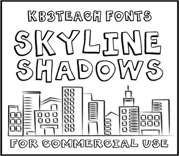 FONTS: KB3 BIG BOLD FONTS PACK #1 (Personal & Commercial Use: K26 Series)