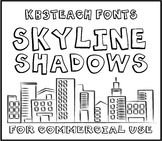 FONTS: KB3 BIG BOLD FONTS PACK #1 (6-Font Set: K26 Series) Personal & Commercial