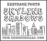 FONTS: KB3 BIG BOLD FONTS PACK #1 (6-Font Set: K26 Series)