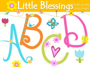 FONTS - Little Blessings - Personal & Commercial use