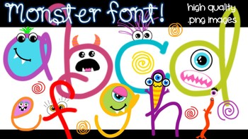 Monster Font! - Personal & Commercial use