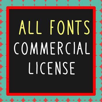 FONTS - Multiple Fonts Commercial License